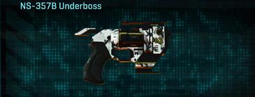 Forest greyscale pistol ns-357b underboss