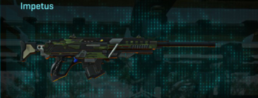 Amerish leaf sniper rifle impetus