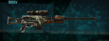 Woodland sniper rifle 99sv