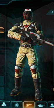 Tr sandy scrub combat medic