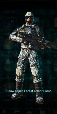 Nc snow aspen forest combat medic