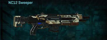 Desert scrub v1 shotgun nc12 sweeper