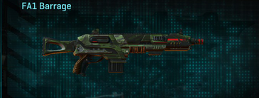 Amerish leaf shotgun fa1 barrage