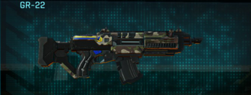 Woodland assault rifle gr-22