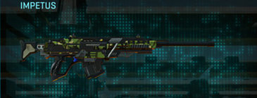 Jungle forest sniper rifle impetus