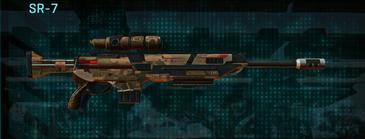 Indar rock sniper rifle sr-7
