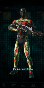 Tr palm infiltrator