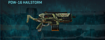 Pine forest smg pdw-16 hailstorm