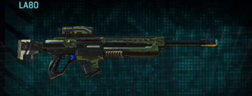 Amerish forest v2 sniper rifle la80