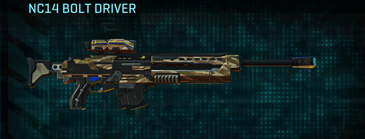 Indar dunes sniper rifle nc14 bolt driver