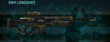 Indar highlands v2 sniper rifle em4 longshot