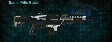 Esamir ice assault rifle gauss rifle burst