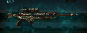 Scrub forest sniper rifle sr-7