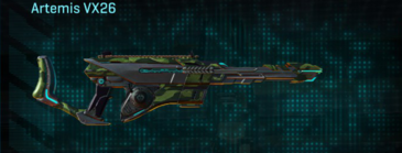 Amerish forest scout rifle artemis vx26