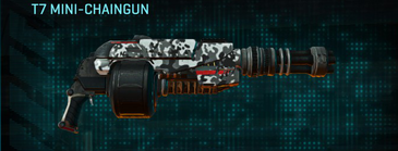 Snow aspen forest heavy gun t7 mini-chaingun