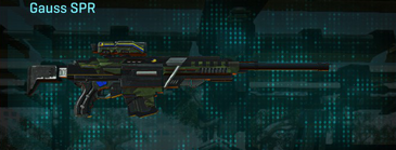 Amerish leaf sniper rifle gauss spr