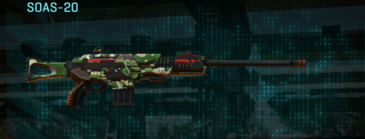 African forest scout rifle soas-20