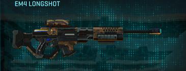 Indar rock sniper rifle em4 longshot