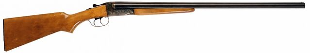 File:12 Gauge Double Barreled Shotgun.jpg