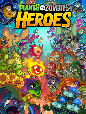 File:Plants vs. Zombies Heroes Title Screen.png