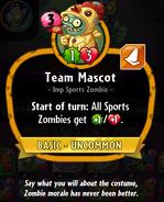Team Mascot description