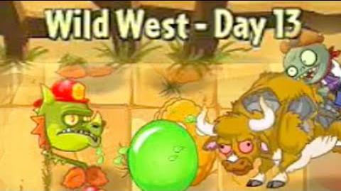 Wild West Day 13 - Plants vs Zombies 2