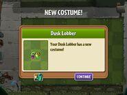 Getting Dusk Lobber's Second Costume