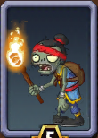 Torch Kongfu Zombie Almanac Icon