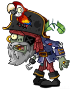 HD Pirate Captain Zombie