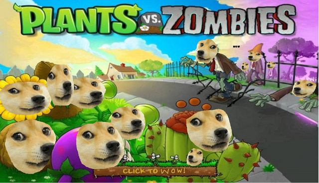 File:PvZ Title Screen Doge!.png