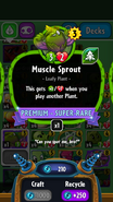 Muscle sprout stats