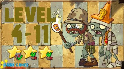 File:Plants vs. Zombies All Stars - Ancient Egypt Level 4-11
