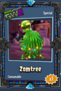 Zomtree Sticker