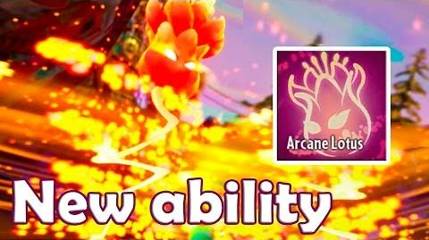 New Ability - Arcane Lotus in Plants vs Zombies Garden Warfare 2