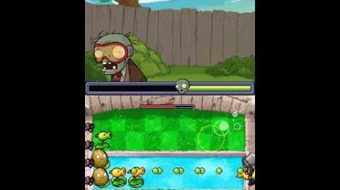 Plants vs zombies DS level 3-5