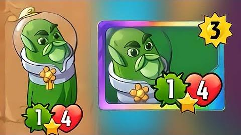 Plants vs Zombies Heroes - Captain Cucumber Gameplay New Legendary
