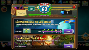 Gold Bloom Quests Menu