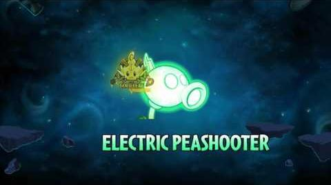 Plants vs. Zombies 2 - New sound for Electric Peashooter