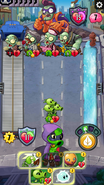 Zombie with 0 health alive