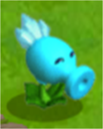 File:Snow Pea in The Game.png