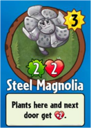 Receiving Steel Mangolia