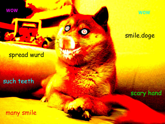 File:Smile doge by marshmallowcookiwolf-d6t32pg.jpg