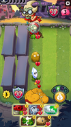 Magnifying Grass with 0 attack when spawned from Seedling