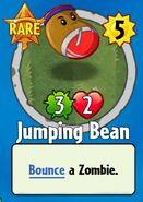 Receiving Jumping Bean