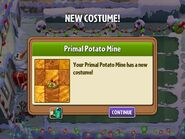 Getting Primal Potato's Second Costume
