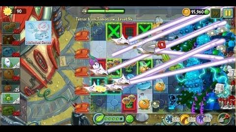 Terror From Tomorrow Level 94 No Premium Plants Plants vs Zombies 2 Endless GamePlay Walkthrough