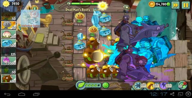 File:Dead Man's Booty Level 071 battle of Hypno-Shroom Plants vs Zombies 2-19-50-34-.JPG