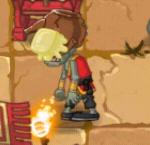 A butter Buckethead Monk Zombie