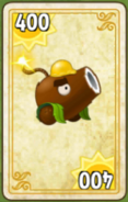 Coconut Cannon Costume Card