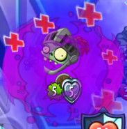 Knight of the Living Dead being healed